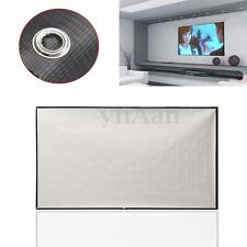 84'' Projector Screen 16:9 Matt White HD TV Movie Projection Home Cinema Theater
