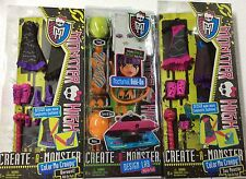 MONSTER HIGH CREATE A MONSTER LAB ADD-ON PACK 2 Packs of create a monster lot 3