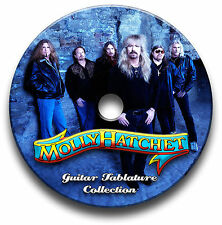 MOLLY HATCHET ROCK GUITAR TABS TABLATURE SONG BOOK SOFTWARE CD LIBRARY