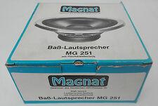 Magant MG 251 Bass-Lautsprecher NEU