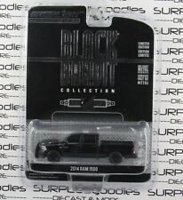 GREENLIGHT 1:64 Black Bandit Series 10 2014 DODGE RAM 1500 Police Pickup Truck
