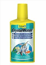TETRA AQUARIUM CRYSTAL WATER FISH TREATMENT 250ML  CLEAR WATER