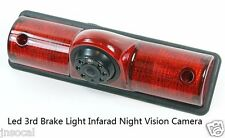 RV Backup Camera Kit Night Vision with 3rd Brake Light