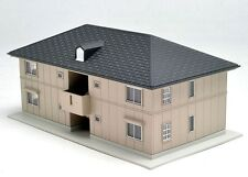 Kato Modern 2 story Beige Apartment building N scale 23-402B Rosselle Road