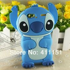 Cute Blue Stitch Soft Silicone Case Cover For Motorola Droid RAZR XT912 XT910