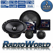 "Clarion SRP1723S 6.5"" 2-Way Component Speaker System Set Car Audio 350W"