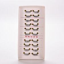 10 pairs/lot Half/ Mini /Corner Winged False eyelashes Cute eye lashes KC12