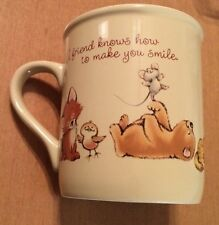 Hallmark A Friend Knows How To Make You Smile Coffee mug
