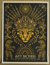 Avett Brothers Concert Poster by Todd Slater Burlington Vermont Low Number