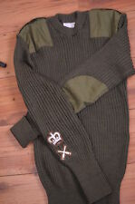 British- Army- jumper- wool- green - CHEST  Size - 106,