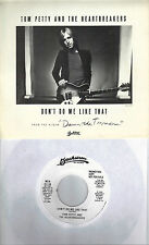TOM PETTY  Don't Do Me Like That  rare promo 45 with PicSleeve