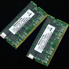 KIT 2GO 2x1GO PC2700 DDR333 333mhz 200PIN 1GB 333Mhz Laptop Mémoire SO-DIMM RAM
