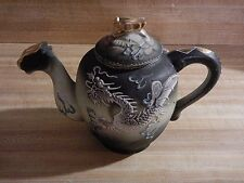 Antique Noitake Nippon Moriage Dragonware  Tea Pot