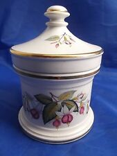 Lovely Portmeirion Pottery lidded preserve/storage jar.  #5694.  1/65.