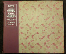 """Stephen Foster Melodies Sung By Frank Luther & The Lyn Murray Quartet (5 x 10"""")"""