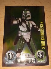 Force ATTAX Star Wars Serie 1 Star-Scheda n. 160 COMMANDER GREE Figurina