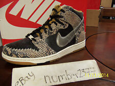 NEW Nike Dunk High Premium CMFT Snake Crocodile size 8.5