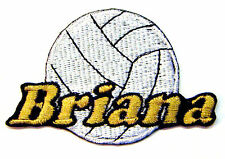 Custom Iron-on Volleyball Patch Personalized