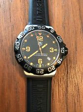 MINT TAG HEUER FORMULA 1 WAH1116 BT0714 ORANGE WATCH