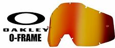 Goggle Shop MX Motocross Tear off Goggle lens for Oakley O-frame- Mirror Inferno