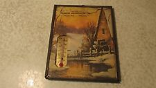 Antique Farmers Union Co-Op Hooper Nebraska Advertising Thermometer Picture