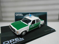 OPEL REKORD D POLIZEI  1972 - 77 OPEL COLLECTION EAGLEMOSS IXO 1/43