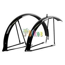 Bicycle Fenders Sunlite Cruiser 26x2.125 Full Steel Black Front & Rear Set