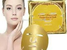 5 x Masques d'or collagène cristal 24k Premier peau Anti vieillissement facemask