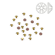 Swarovski Hotfix Flat Backs SS6 Metallic Sunshine Pack of 24 (K58/11)