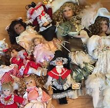 Lot Of Porcelain Dolls My Aunt Bought In Whales. Maureen Thomas Etc