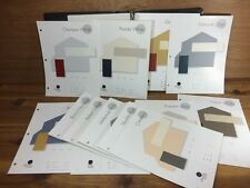 SHERWIN WILLIAMS Homescapes Design Color Schemes House Binder Pages Fan Chips