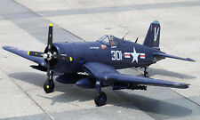 "Large 1/8 Scale F4U-1 CORSAIR scratch build Rc Plane Plans & Instruction 61.5""WS"