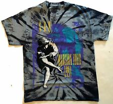 GUNS N' ROSES cd cvr USE YOUR ILLUSION TYE DYE Official SHIRT LRG new