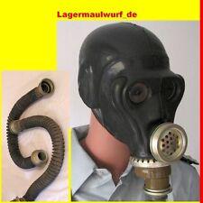 Gasmaske Affenkopf Gummischlauch Black Style Dark Room  Halloween Kostüm Gummi