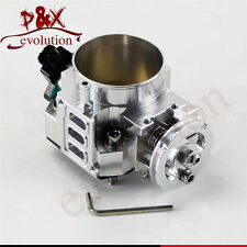 Silver 70mm Throttle Body/ TPS for honda K20 /Civic/ EP3/ Type R/Integra DC5