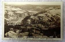 RPPC POSTCARD LOOKING DOWN HIGHWAY GRADE TOWARD OROFINO IDAHO #AJ8