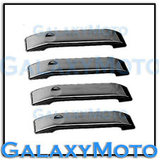 04-14 Ford F150 Triple Black Chrome 4 Door Handle only Cover 2014 Trim Bezel