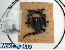 ODYSSEY- BLACK -EVO 2 REAR BRAKE FULL KIT  /  BMX BIKE - NEXTKARTING -