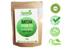 Matcha Tea powder Green Tea Greentea organic 100 gram - Premium High Quality