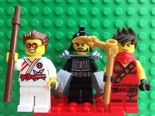 Lego Ninjago 70756 Karloff,Griffin Turner And Kai Minifigure+weapons (only)new