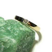 Toller Ring Weißgold 50 (15,9 mm Ø) 750/18k Gold Brillant 0,11ct Diamant