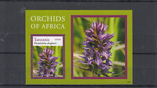 Tanzania 2014 MNH Orchids of Africa 1v S/S Flowers Flora Dactylorhiza dinglensis