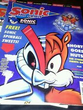 Sonic the Comic.  Comic. 3rd March 1995. Issue 46. Sonic the Hedgehog.