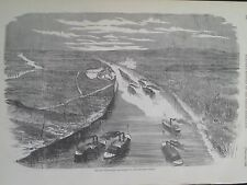 Fort Henry Tennessee Foot's Gun Boats Ascending To Attack Civil War 1862 Print