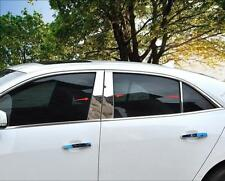 Chrome Central Window B+C Pillar Posts Cover For Chevrolet Malibu 2013 2014 2015
