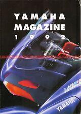 YAMAHA Magazine 1992 : XJ 600 S Diversion FZR 400 TZR SR XV MORPHO FJ 1200 #0007