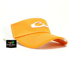 DRAKE WATERFOWL GAME DAY FITTED VISOR TENNESSEE ORANGE WHITE XL/2XL FLEX FIT