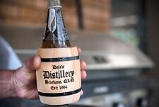 PK 2 WOODEN STUBBY HOLDERS -FREE LASER ENGRAVING- A GREAT CHRISTMAS GIFT IDEA