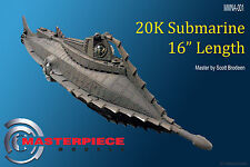 16 inch long, 20K Submarine the NAUTILUS  Resin Assembly kit