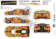 [FFSMC Productions] 1/32 Ferrari F458 GT AM 8Star Motorsports 24 H du Mans 2013